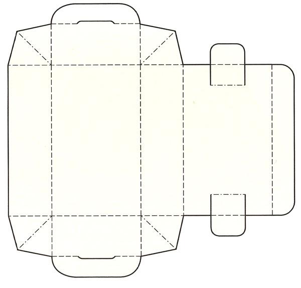 盘式别插组织结构纸盒